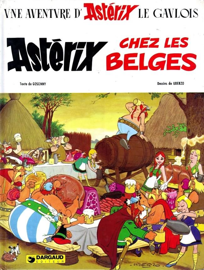 Consulter les informations sur la BD Astérix chez les Belges