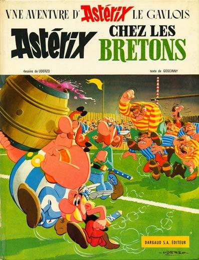 Consulter les informations sur la BD Astérix chez les Bretons