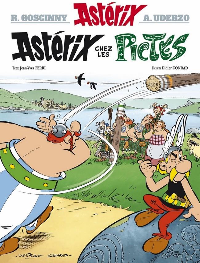 Consulter les informations sur la BD Astérix chez les Pictes