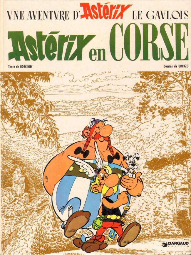Consulter les informations sur la BD Astérix en Corse