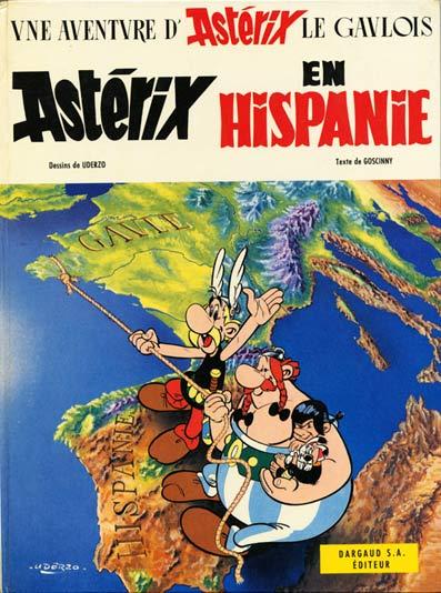 Consulter les informations sur la BD Astérix en Hispanie