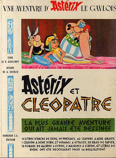 Consulter les informations sur la BD Astérix et Cléopâtre