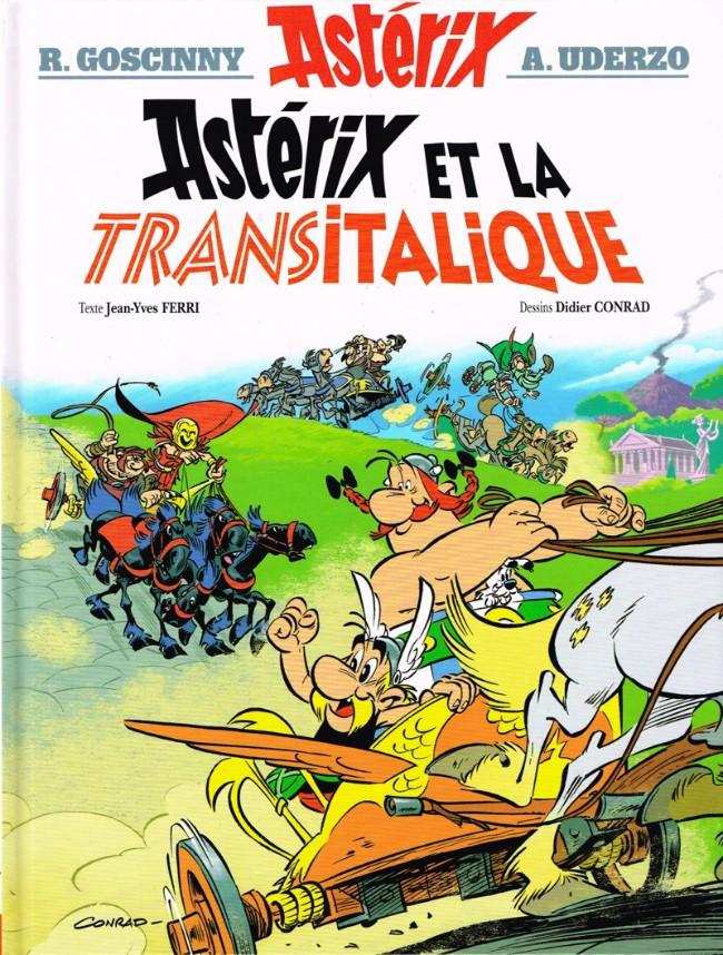 Consulter les informations sur la BD Astérix et la Transitalique
