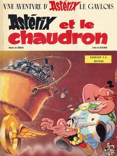 Consulter les informations sur la BD Astérix et le Chaudron