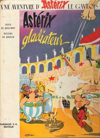 Consulter les informations sur la BD Astérix Gladiateur