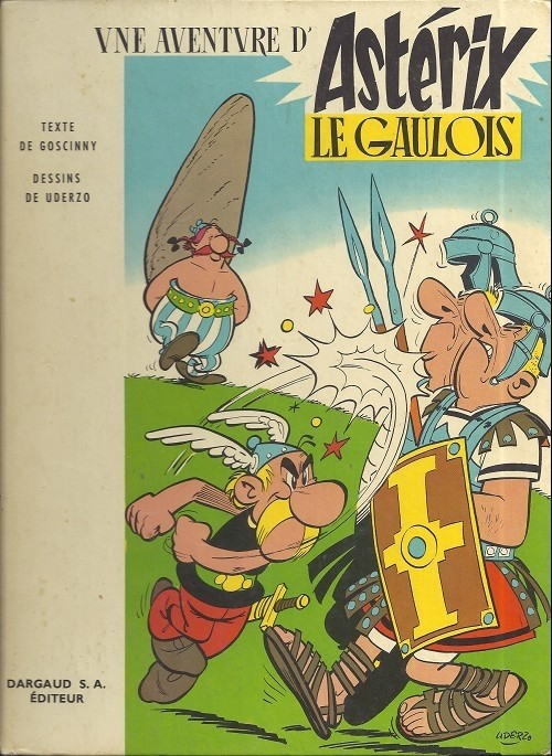 Consulter les informations sur la BD Astérix le Gaulois