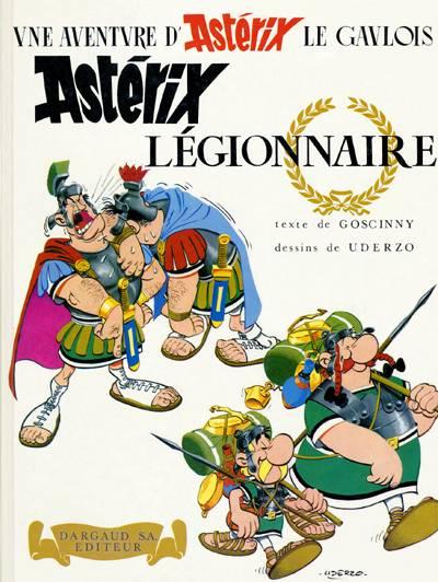 Consulter les informations sur la BD Astérix Légionnaire