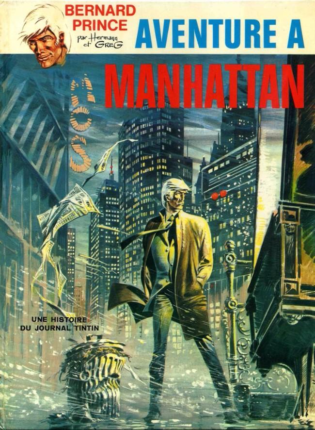 Consulter les informations sur la BD Aventure à Manhattan