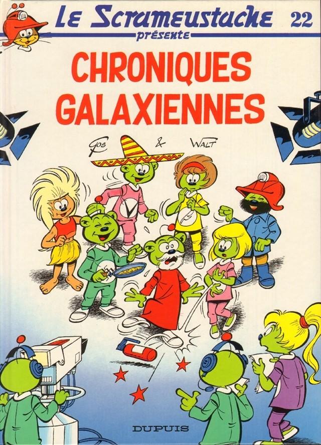 Consulter les informations sur la BD Chroniques galaxiennes