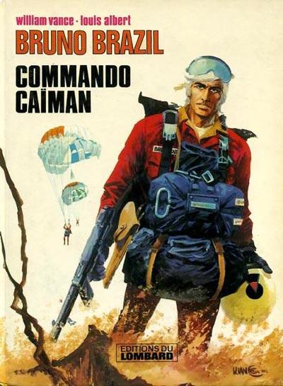 Consulter les informations sur la BD Commando Caiman