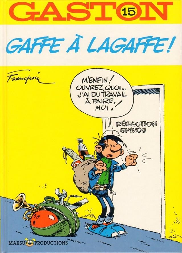 Consulter les informations sur la BD Gaffe à Lagaffe !