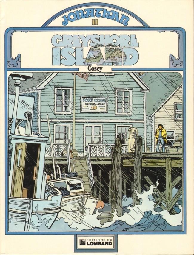 Consulter les informations sur la BD Greyshore Island