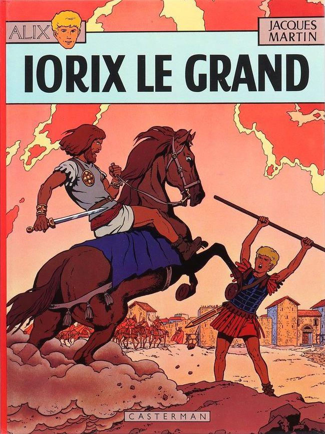 Consulter les informations sur la BD Iorix le Grand