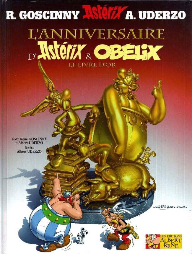 Consulter les informations sur la BD L'Anniversaire d'Astérix & Obélix - Le livre d'Or