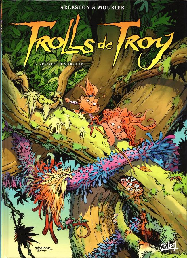 Consulter les informations sur la BD  l'école des Trolls