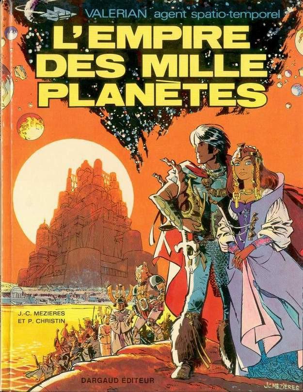 Consulter les informations sur la BD L'Empire des Mille Planètes