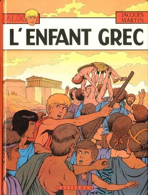 Consulter les informations sur la BD L'Enfant Grec