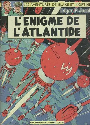 Consulter les informations sur la BD L'Enigme de l'Atlantide