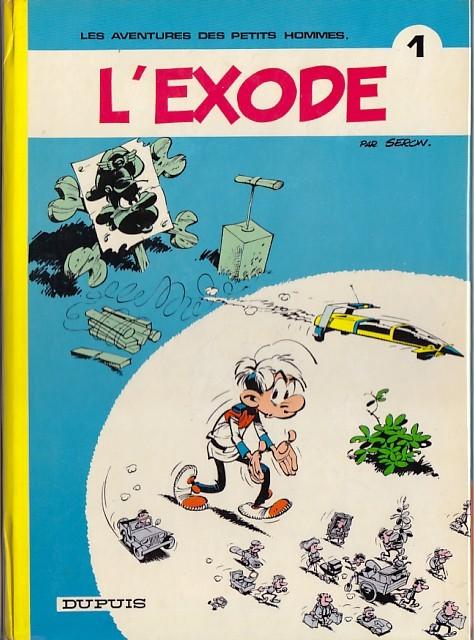 Consulter les informations sur la BD L'exode