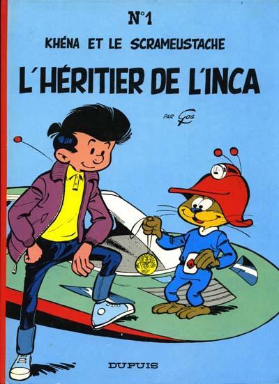 Consulter les informations sur la BD L'Héritier de l'Inca