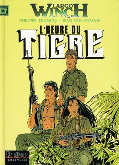 Consulter les informations sur la BD L'Heure du Tigre