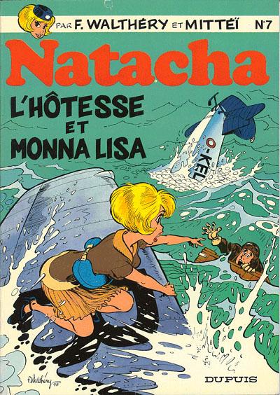 Consulter les informations sur la BD L'hôtesse et Monna Lisa