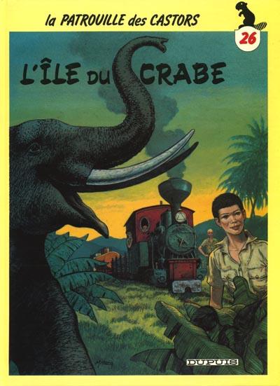 Consulter les informations sur la BD L'île du Crabe