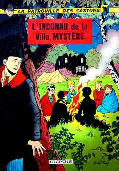 Consulter les informations sur la BD L'Inconnu de la Villa Mystère