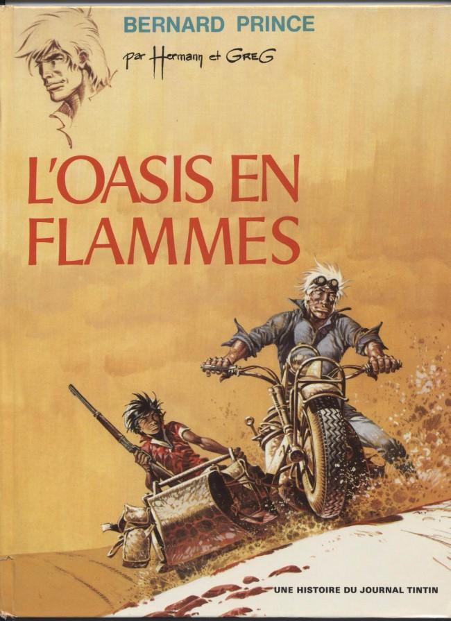 Consulter les informations sur la BD L'Oasis en Flammes
