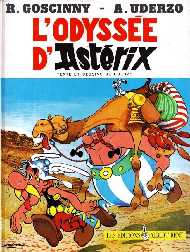 Consulter les informations sur la BD L'Odyssée d'Astérix