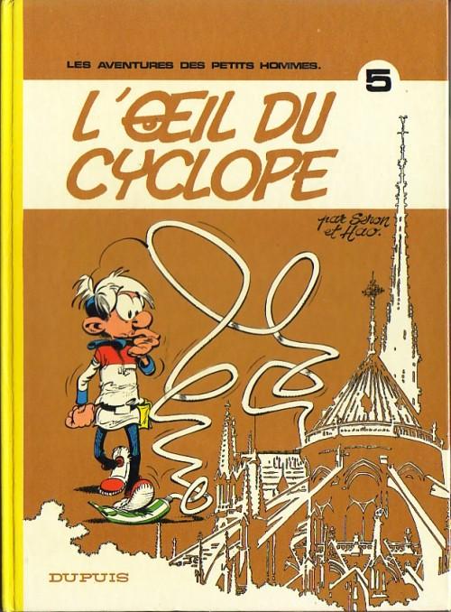 Consulter les informations sur la BD L'Oeil du Cyclope