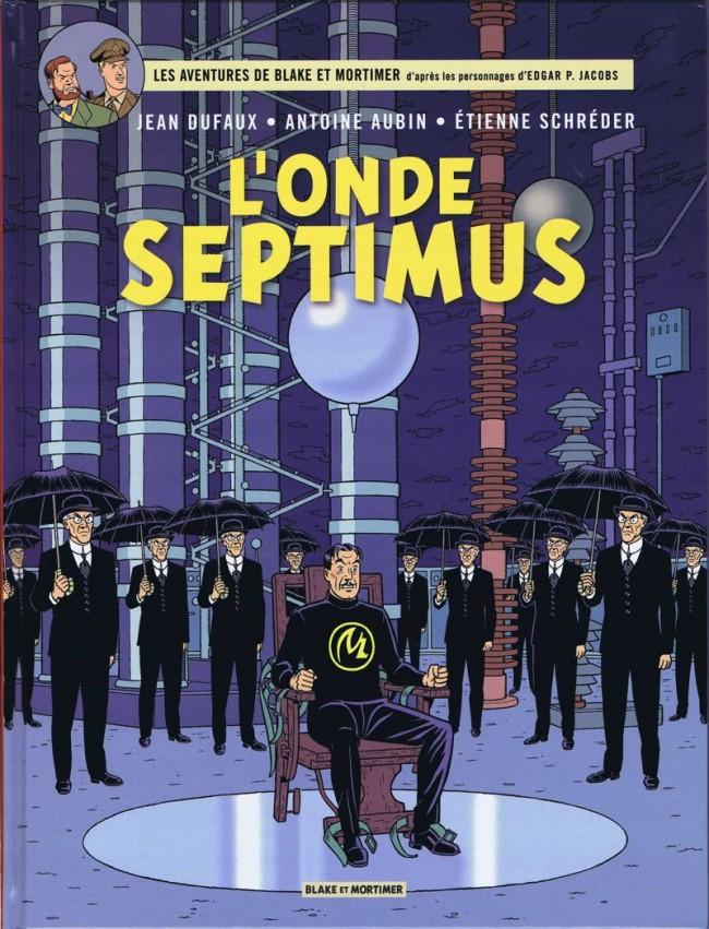 Consulter les informations sur la BD L'Onde Septimus