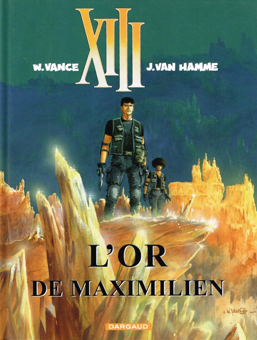 Consulter les informations sur la BD L'or de Maximilien