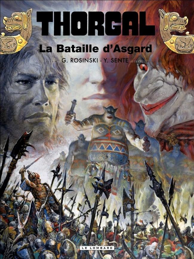 Consulter les informations sur la BD La Bataille d'Asgard