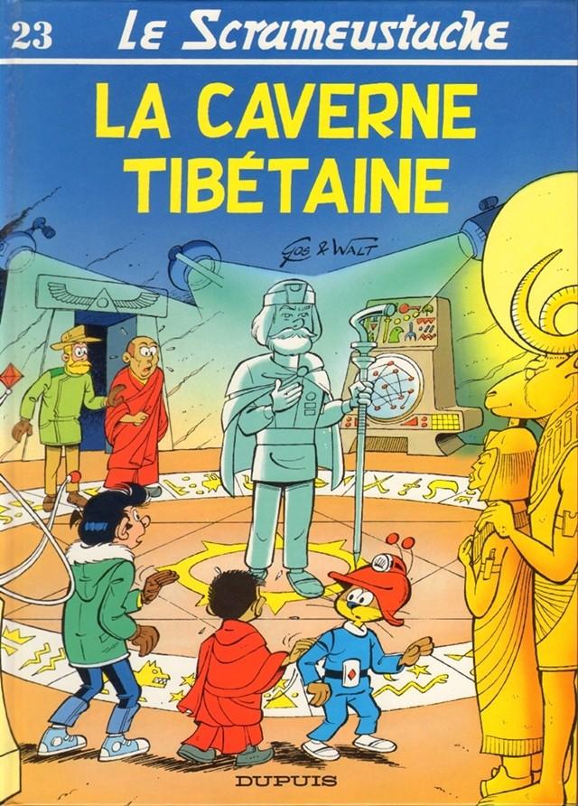 Consulter les informations sur la BD La caverne tibétaine
