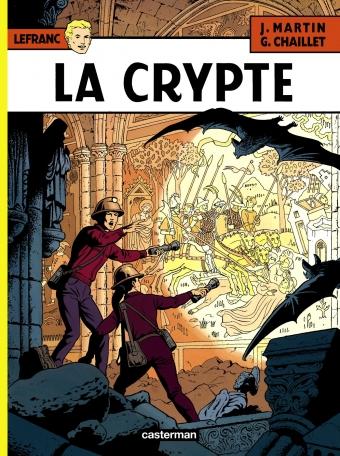 Consulter les informations sur la BD La Crypte