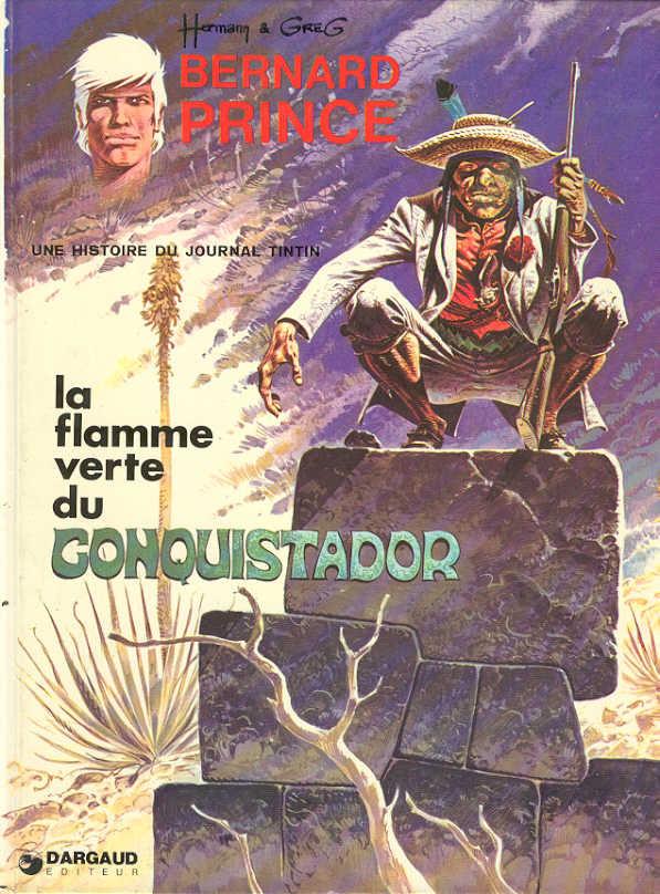 Consulter les informations sur la BD La Flamme Verte du Conquistador