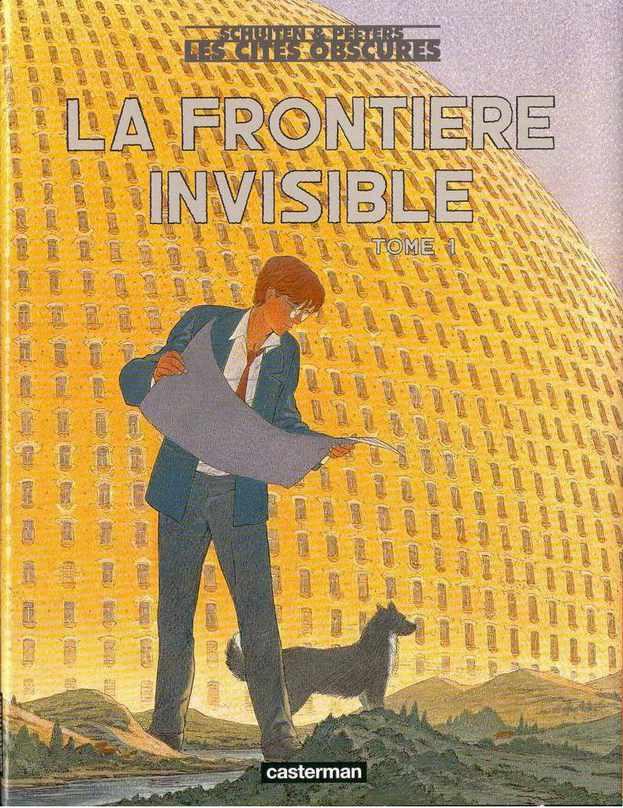 Consulter les informations sur la BD La frontière invisible - 1