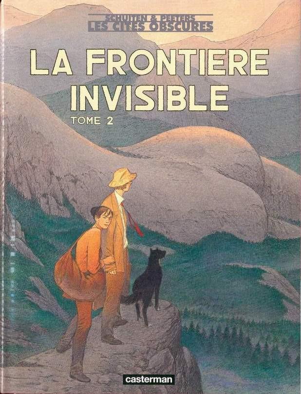 Consulter les informations sur la BD La frontière invisible - 2