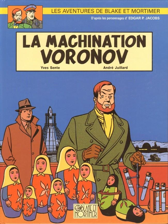Consulter les informations sur la BD La Machination Voronov