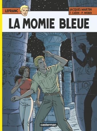 Consulter les informations sur la BD La momie bleue