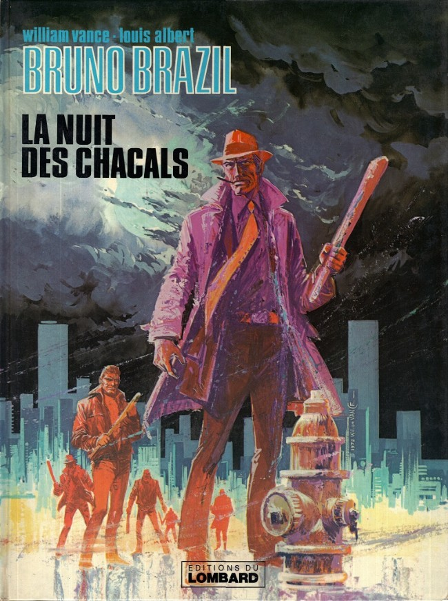 Consulter les informations sur la BD La Nuit des Chacals