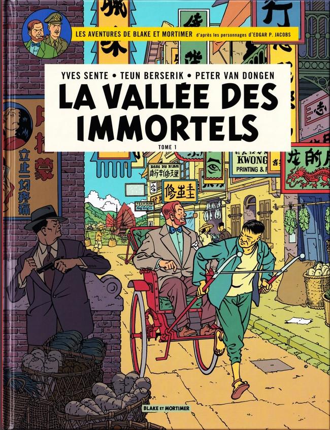 Consulter les informations sur la BD La Vallée des Immortels - Tome 1