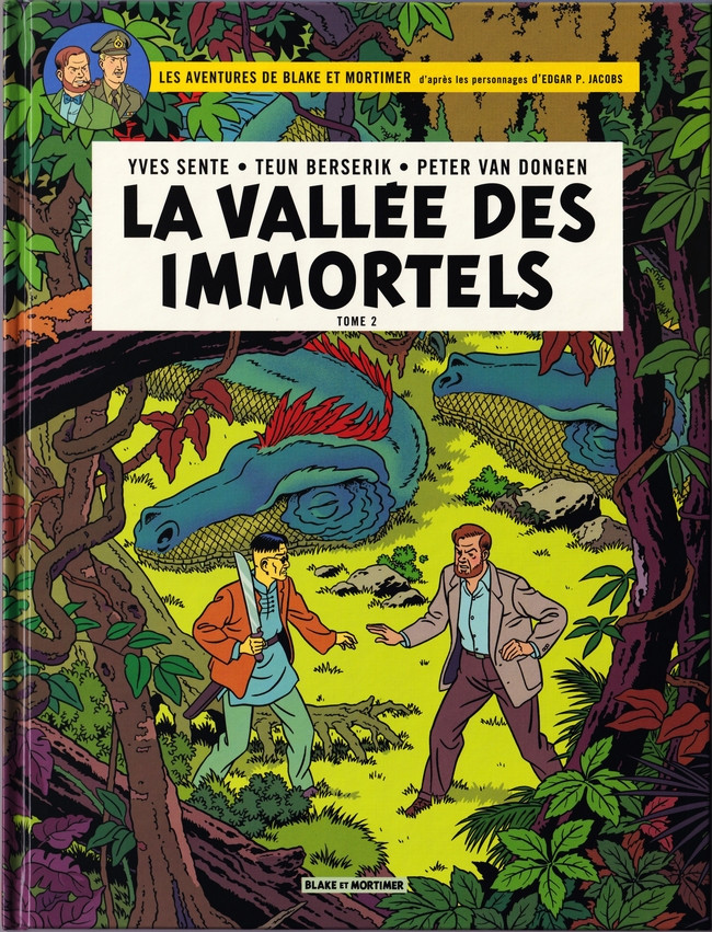 Consulter les informations sur la BD La Vallée des Immortels - Tome 2