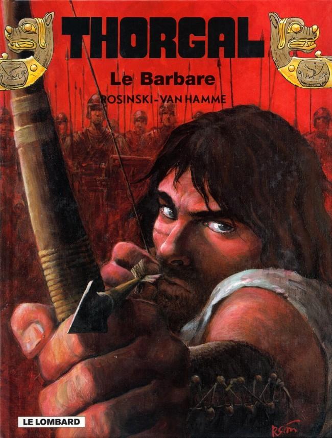 Consulter les informations sur la BD Le Barbare
