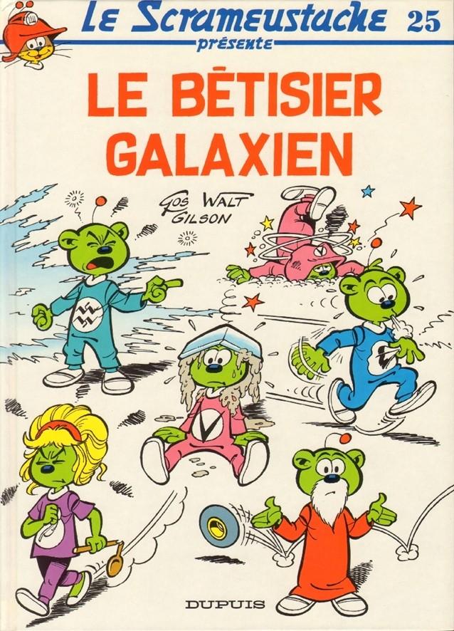 Consulter les informations sur la BD Le bêtisier galaxien
