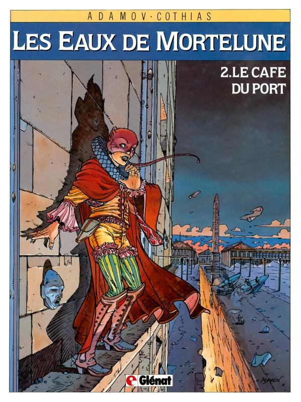 Consulter les informations sur la BD Le Cafe du Port