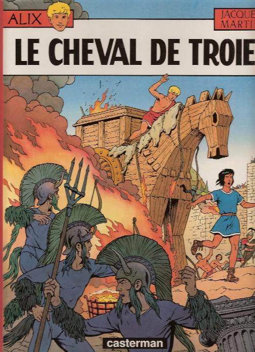 Consulter les informations sur la BD Le Cheval de Troie