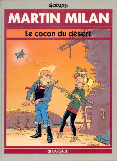Consulter les informations sur la BD Le cocon du désert