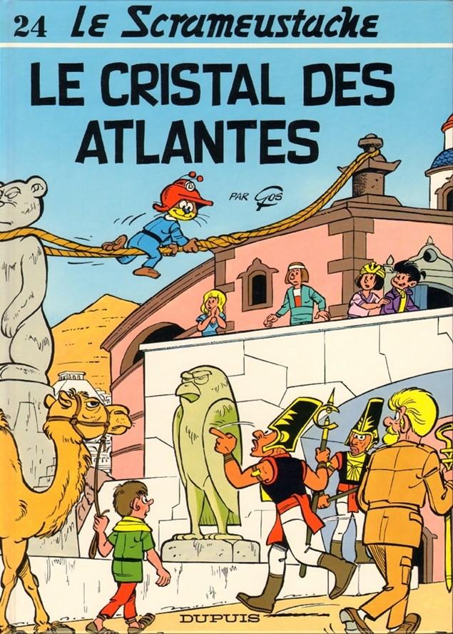 Consulter les informations sur la BD Le cristal des Atlantes